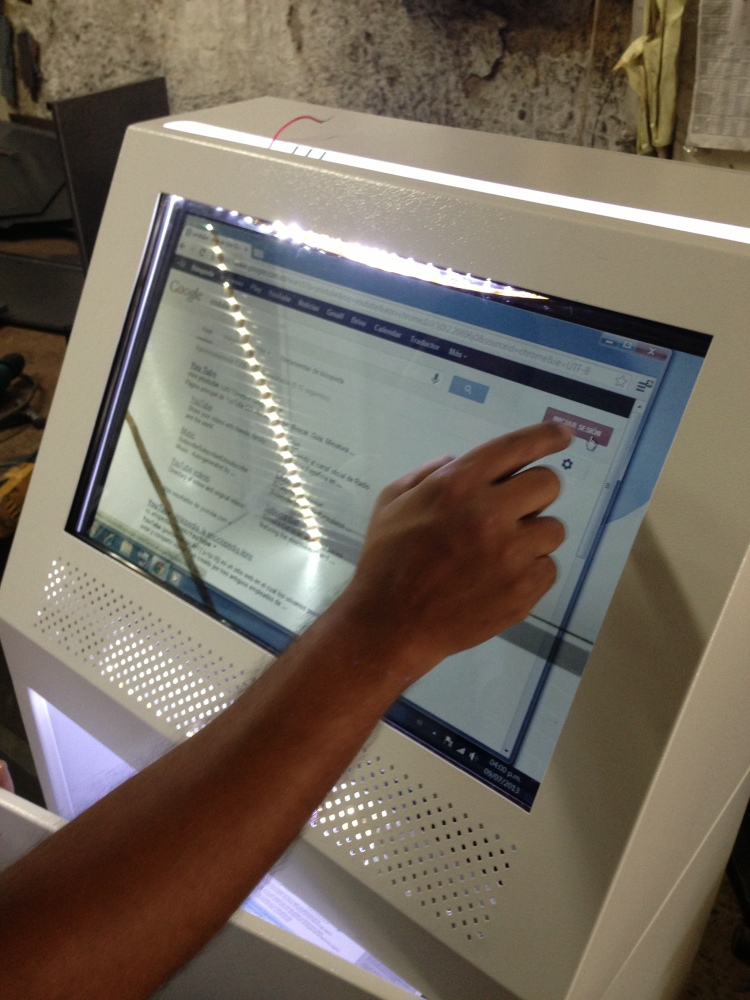 More Than a Touch Screen