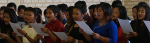 The choir of the Perth Chin Baptist Church