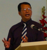 Rev James Tin Kung, Pastor of the Perth Chin Baptist Church