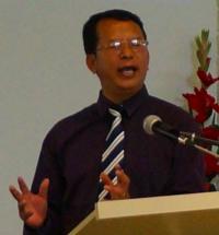 Rev James Tin Kung, Pastor of the Perth Chin Baptist Church